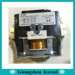 220V 명확한 목적 에어 컨디셔너를 위한 자석 AC 접촉기 1pole 30A