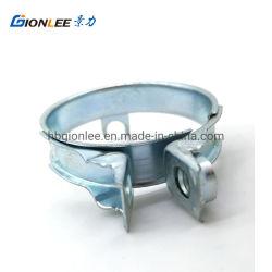 O tubo de borracha quadrados de aço inoxidável Braçadeira de solda para tubo