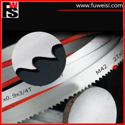 M51 Bimetal Lâmina de serra de fita 27X0.9X4/6t para o corte da barra de aço inoxidável.