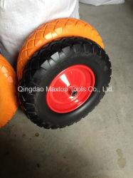 China Maxtop PU-Schaumgummi-Gummi-Schubkarre-Rad