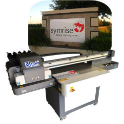 Industriële Flatbed Printer op Plastiek met Dx5 Printhead