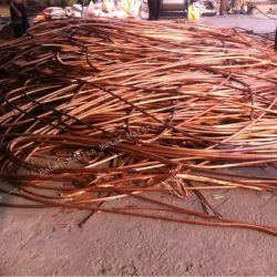 Um grande número Non-Alloy Mill Bery sucata de cobre do fio de sucata de cobre para venda