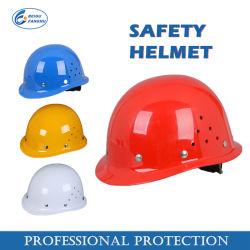 安全設備、構築の保護働くノブのABS安全ヘルメット