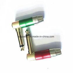 6.35mm mono/connettori differenti colore di stereotipia per la televisione/calcolatore/audio/video/radio/telefono/chitarra