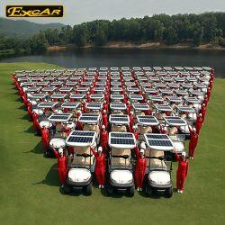 Veicolo elettrico con errori del carrello di golf di 2 Seater di golf solare elettrico del carrello