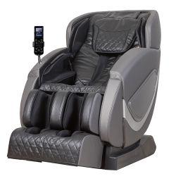 전기 가득 차있는 바디 4D 무중력 안마 안락 의자 SL 궤도 뒤 팔 다리 발 Shiatsu 의자 안마