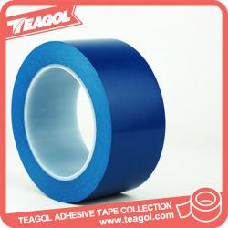 PVC adhésif en caoutchouc bleu Le marquage du ruban adhésif, bande