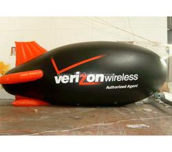 Ihb100 팽창식 광고 소형 연식 비행선 또는 나는 거대한 헬륨 비행기 또는 로고 (PVC)