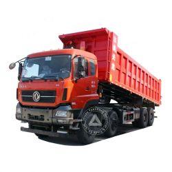 東Feng 12の車輪25の立方メートル40 45トンの販売のための頑丈で大きい密封された自己のローダーのダンプカーのダンプトラックの容量そして価格