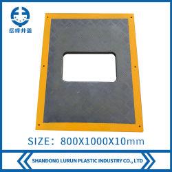 La norma EN124 FRP (Plástico Reforzado con Fibra de GRP)/BMC/Rejilla de drenaje de compuesto de SMC.