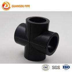 Acessórios para tubos HDPE Cross/Fusão Topo Cross/Conexão em Cruz de soquete