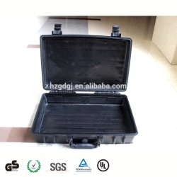 IP67 Hard Shell Segurança plástica protetora estojo do computador portátil com espuma