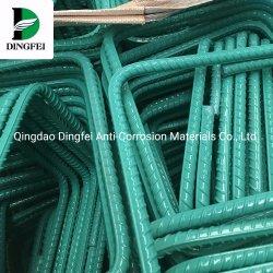 Commerce de gros de haute qualité recouvert de résine époxy AISI, ASTM, BS, DIN, GB, JIS, barres d'armature en acier de renforcement de la DGRH Prix Barre de filetage