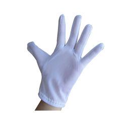 Taller de microfibra, guantes blancos Dustfree
