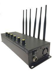 6 antennes 15W/3/4G LTE/4G Wimax brouilleurs de téléphone cellulaire