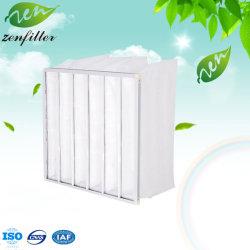 El bastidor de acero galvanizado G3 efecto inicial Filtro de Mangas, gruesas eficiencia filtro de mangas