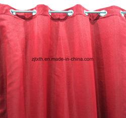 2020 precios baratos de tela Blackout cortina roja Liveing por habitación y la habitación del hotel