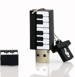 Il flash del USB del PVC del piano dei regali di comunione determina la memoria di musica della tastiera 16GB 8g 4giga