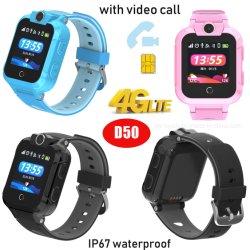 Resistente al agua IP67 Smart Children's Watch Tracker GPS reloj teléfono con Videollamada 4G