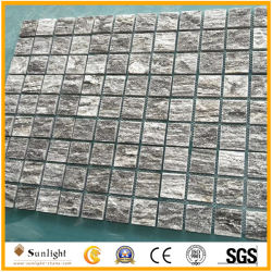 Cubo grigio e giallo poco costoso cinese del granito, lastre per pavimentazione, lastricatori di pietra