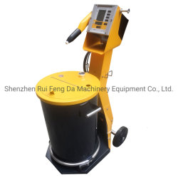 高性能の小さい手動か自動静電気の粉のコーティングかまたはスプレー吹きかかるか、またはペンキ装置