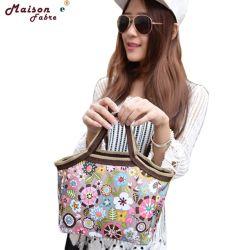 Mode fleur portable sacs pour le déjeuner Déjeuner Dîner de paquet des sacs de stockage des aliments 0210 Drop Shipping