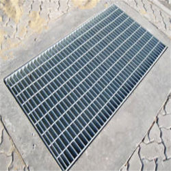 Kundenspezifischer guter Preis-Auswahl-Beweis galvanisiert/Edelstahl-Stab-kratzender Fußboden-Abfluss-Einsteigeloch-Graben-Deckel für Verkauf
