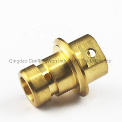 Gira de precisión de mecanizado CNC de componentes personalizados de los componentes de las pequeñas piezas de latón fundido de excavación