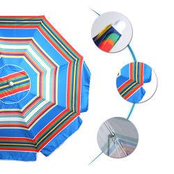 비치 우산 9ft/10ft/13ft 야외 알루미늄 비치 우산