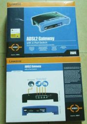 (ADSL da Linksys com Modem ADSL2)/Sem Wireless