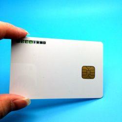 SLE4442 programable personalizada blank póngase en contacto con la tarjeta RFID