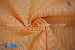 Type de côte/piste de tissu de Spandex de polyester de jacquard