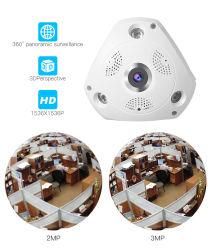 3MP CCTV 사진기 360 파노라마 WiFi 사진기 Fisheye 3D 감시 감시 카메라 IR 야간 시계 DVR