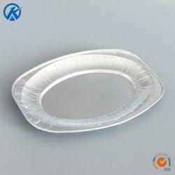 Mittleres ovales Umhüllung-Tellersegment-Aluminiumfolie