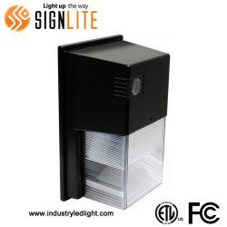 Parede Mini impermeável IP65 Pack Light 20W 24W Wallpack com UL parede LED Driver Pack Luz com fotocélula