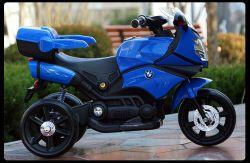 مزح عمليّة ركوب على لعبة درّاجة ناريّة كهربائيّة لون موسيقى [بمو] صنع وفقا لطلب الزّبون محرّك قوة بطارية درّاجة ناريّة