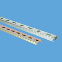 Настраиваемые C Форма Корончатая строительного материала перфорированные профили Struts канала стали