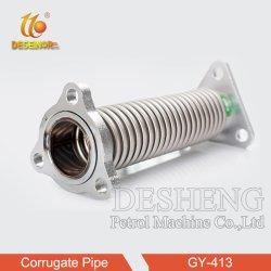 Dispensador de combustible de acero inoxidable tubo Corrugate