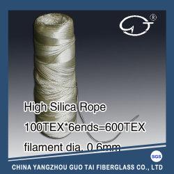 高温抵抗の電子タバコのための高い無水ケイ酸ロープ