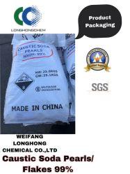 Una calidad superior/exportación de alta pureza y caliente la sosa cáustica escamas / perlas del 99% CAS 1310-73-2