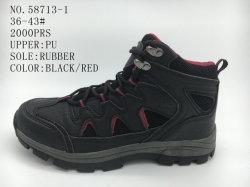 Superior de la PU Invierno Zapatos Dama zapatos botas de hombre
