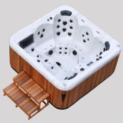 Kingston jupe en bois jardin piscine gonflable Pop-TV Spa bain à remous (JCS-63)