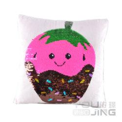 """Декоративные подушки Sequin"""" розового цвета блока подушки"""