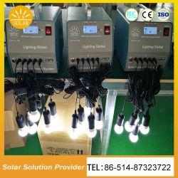 Bewegliches 50W 60W 70W kleine Solarhauptinstallationssätze mit USB-Telefon-Aufladeeinheit