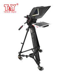 Micro cámara de cine equipo Teleprompter Teleprompter portátil