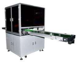 Detecção visual CCD da bateria antes da soldagem