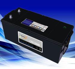 酸12V120ah鉛およびMfのカー・バッテリーのトラック電池は乾燥する