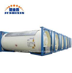 20FT T50 Chlore/GPL/Trichloroéthane/propane/l'isobutane/ammoniac/méthyl/éthylène Oxyde de réservoir de stockage de conteneur ISO de 22 tonnes