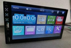 Carro de rádio Bluetooth MP3/MP4/MP5 Player com 7 polegadas de ecrã táctil completo