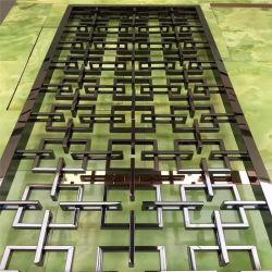 建築プロジェクトのためのインテリア・デザインのステンレス鋼の隔壁のパネルレーザーの切口スクリーン